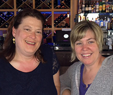 Nancy Chamberlain (L) and Wendy Reynolds are May Activists of the Month