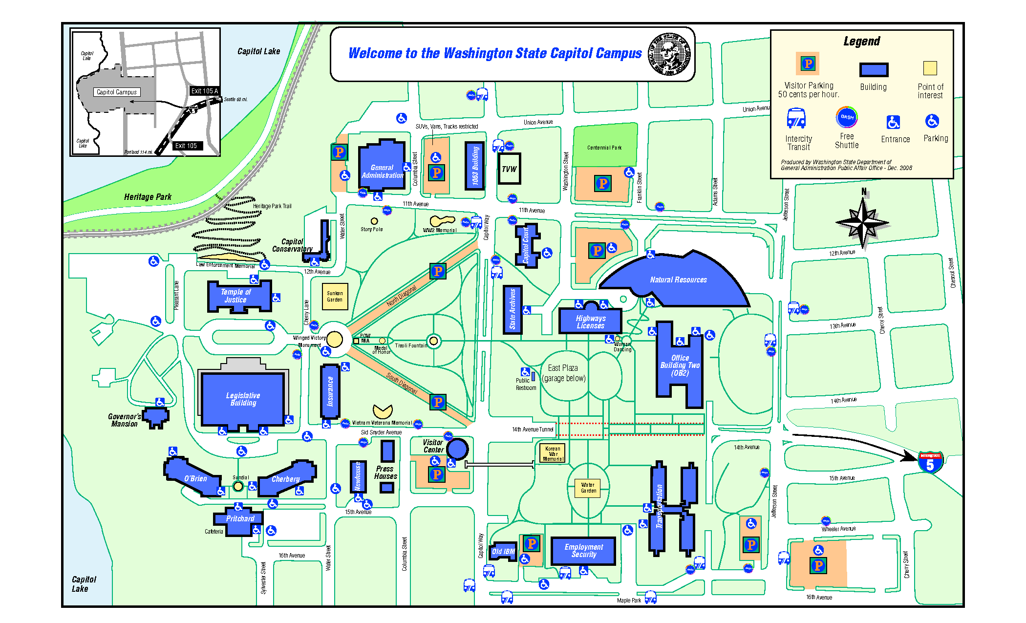 Olympia Capitol Campus Map.Capital Campus Map Www Naturalrugs Store