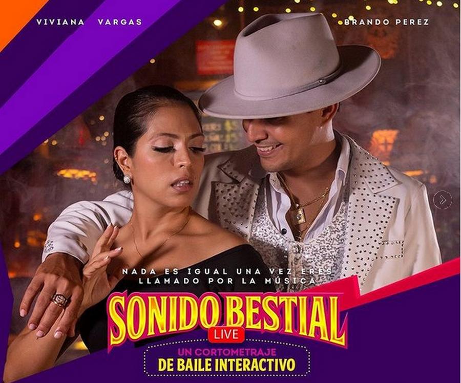 los-campeones-de-salsa-viviana-vargas-y-brando-perez-presentan-su-nuevo-hijo-artistico-sonido-bestial-el-cortometraje-de-baile-interactivo