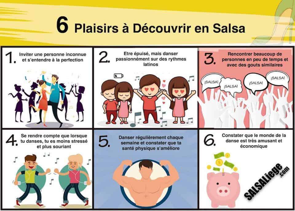6 Plaisirs à découvrir en Salsa