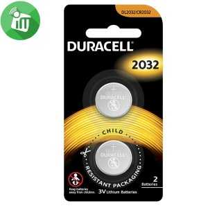 Duracell Lithium Battery CR2032 – 3V 2PCS