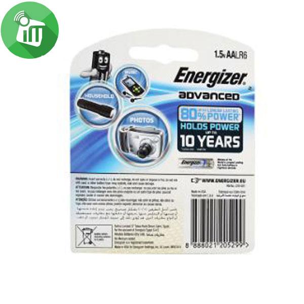 Energizer 2PCS AA ADVANCED + Power Boost 1.5V