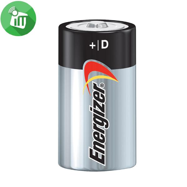 Energizer 2PCS Size D Max + Powerseal Batteries 1.5V