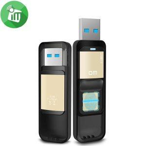 DM PD061 32G High-speed Recognition Fingerprint Encrypted Flash Drive