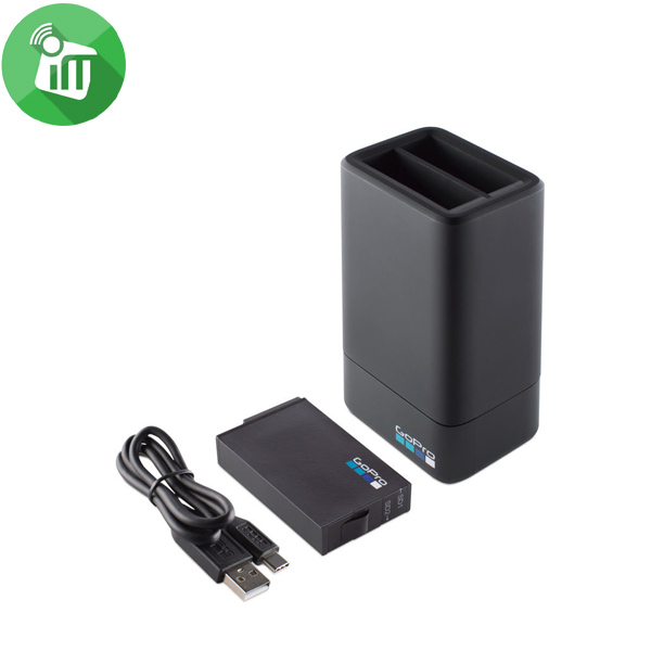 Gopro Fusion Dual Battery Charger +Battery