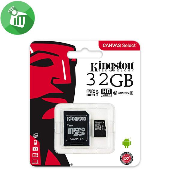 Kingston 32GB Class4 SDHC Micro Memory card