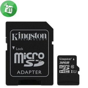 Kingston 32GB Class 10 80MB/s SDHC Micro Memory card