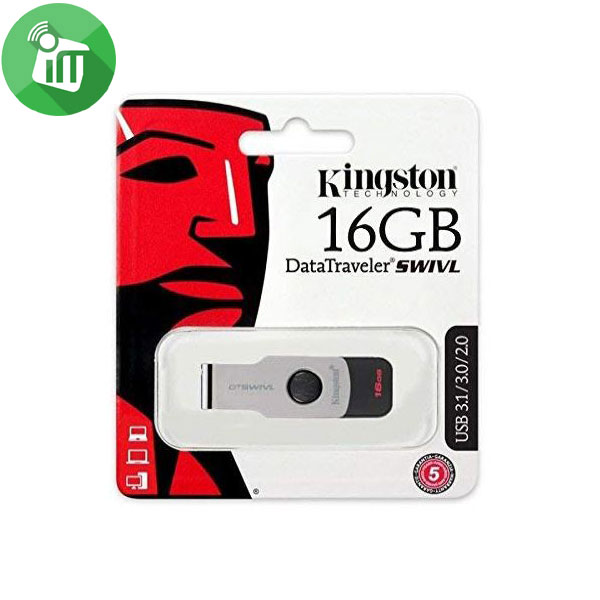 Kingston Digital DataTraveler SWIVL 16GB USB 3.1