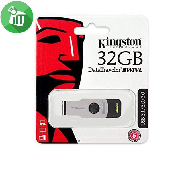 Kingston Digital DataTraveler SWIVL 32GB USB 3.1