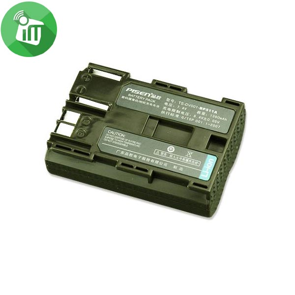Pisen BP511A Camera Battery Charger for Canon EOS-300D/10D
