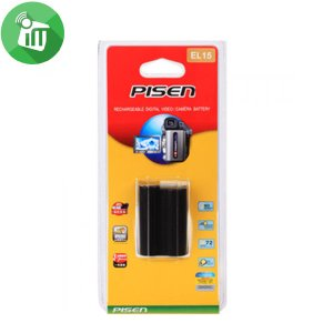 Pisen EL15 Camera Battery Charger for NIKON D600