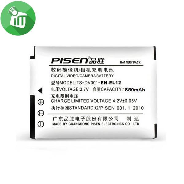 Pisen EN-EL12 Camera Battery Charger for NIKON S610