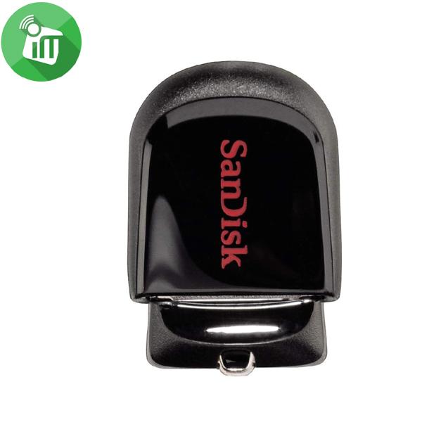 SANDISK CRUZER FIT USB 2.0/3.0 FLASH DRIVE 64GB