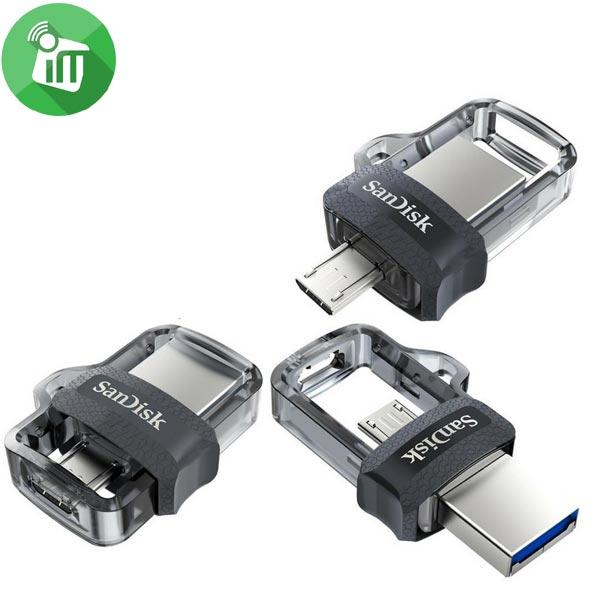 SanDisk Ultra 128GB Micro USB M3.0 OTG Flash Drive