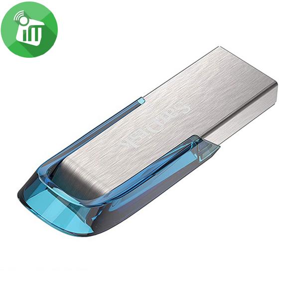SANDISK ULTRA FLAIR USB 3.0 FLASH DRIVE 64GB