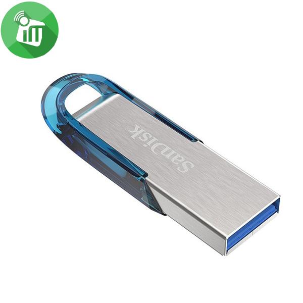 SANDISK ULTRA FLAIR USB 3.0 FLASH DRIVE 128GB