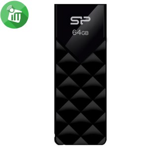 Silicon Power Blaze B03 64GB Slide USB 3.2 Flash Drive