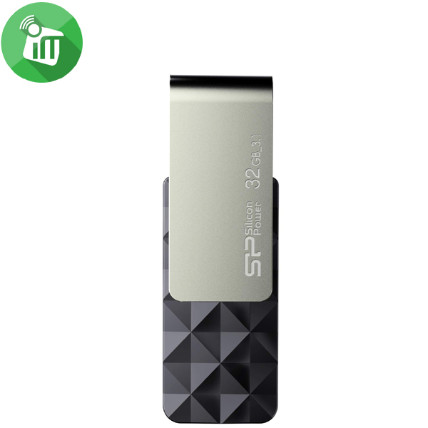 Silicon Power Blaze B30 32GB USB 3.1 Flash Drive