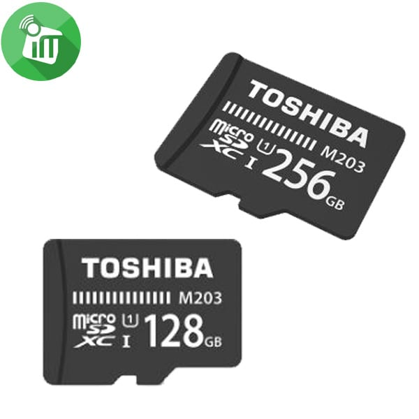 Toshiba microSDHC 32GB UHS-I Card With Adapter 100MBs