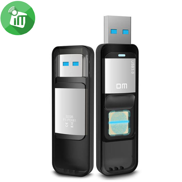 DM PD061 Fingerprint USB Flash Drive 64GB
