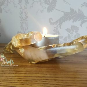 Hand Tea Light Candle Holder