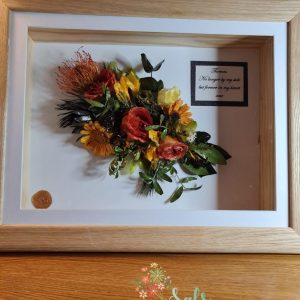 3d Framed Flower Preservation Bouquet