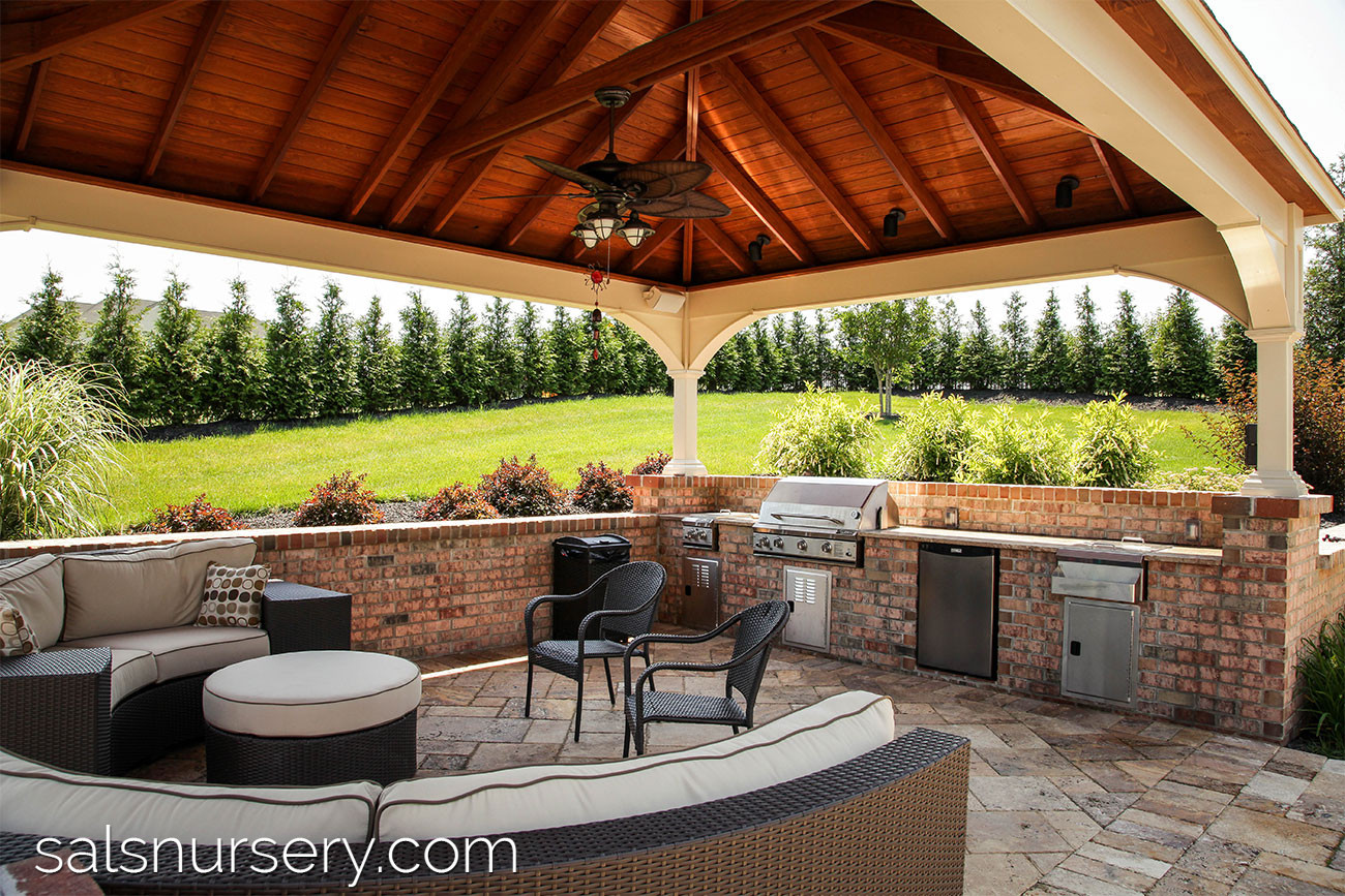 Outdoor Living - North Wales, PA | Sal's Nursery on Covered Outdoor Living Area id=25387