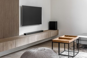 TV feature and console
