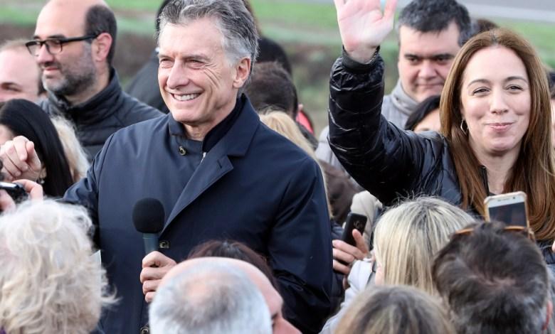 Macri y Vidal inauguraron un tramo de la Ruta Nacional 7 - Fuente: El Intransigente.