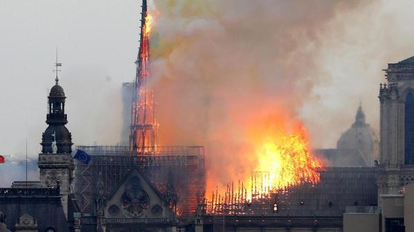 Francia: investigadores descartan la posibilidad de crimen en el incendio de Notre Dame - Fuente: El Intransigente.