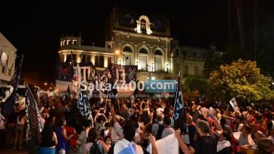 Photo of En Salta se festeja el triunfo del Frente de Todos