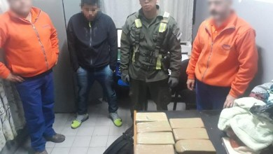 Photo of Narcotráfico: Incautaron más de 6 kilos de marihuana