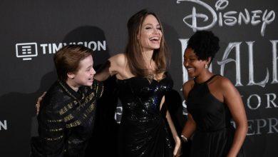 Photo of Angelina Jolie comparte una reunión muy especial con sus dos hijas mayores