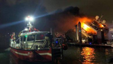 Photo of El lujoso yate de Marc Anthony fue destruido en un misterioso incendio