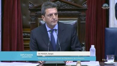 Photo of Sergio Massa es el nuevo presidente de la Cámara de Diputados de Nación