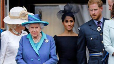 Photo of La reacción de la reina Isabel tras el anuncio del principe Harry y su esposa