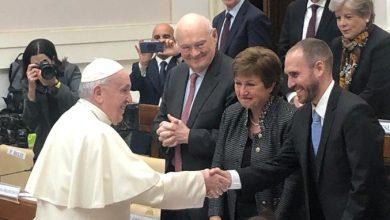 """Photo of El Papa Francisco pidió ante la titular del FMI que no se exija pagar las deudas """"con sacrificios insoportables"""""""