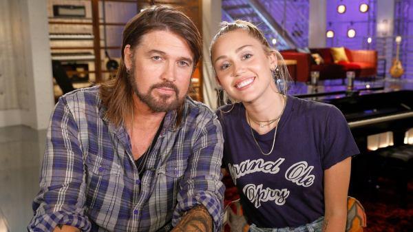 Miley Cyrus y Ryan Cyrus