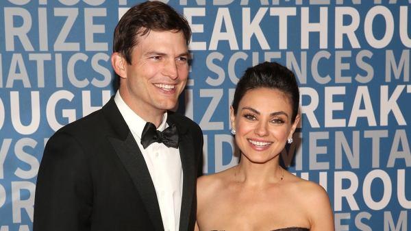 Asthon Kutcher y Mila Kunis
