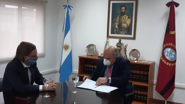 Abel Cornejo y Gustavo Farquharson