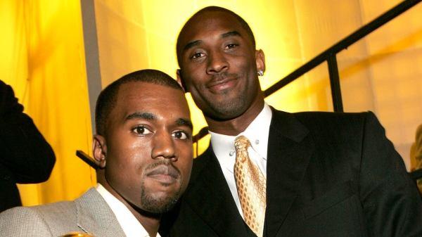 Kanye West y Kobe Bryant