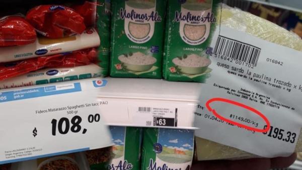 Suba de precios en Salta