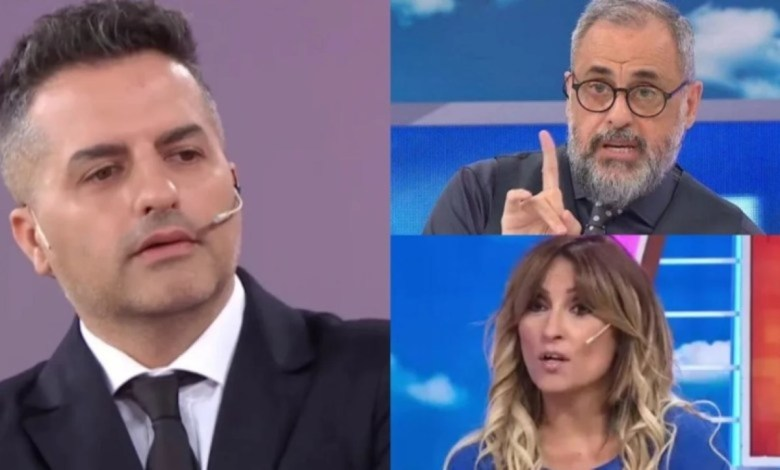 Ángel de Brito, Marcela Tauro y Jorge Rial