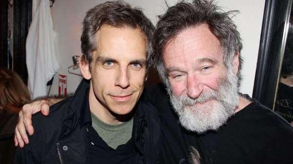 Ben Stiller y Robie Williams