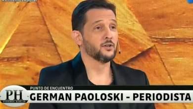 Photo of ¿Bancó a su compañera? Germán Paoloski dejó su postura sobre la entrevista entre Alberto Fernández y Cristina Pérez