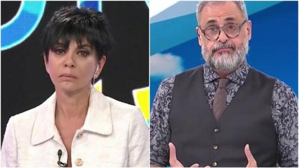 Mónica Gutiérrez y Jorge Rial