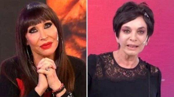 Moria Casán y Mónica Gutiérrez