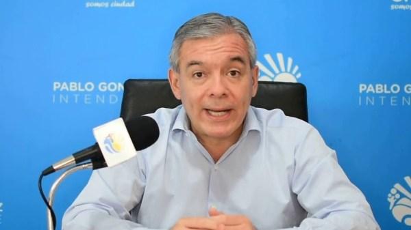 Pablo González Intendente de Orán