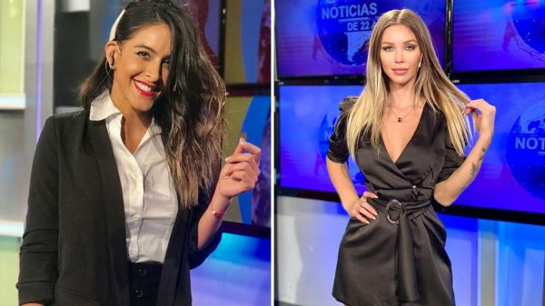 Celeste Muriega y Romina Malaspina