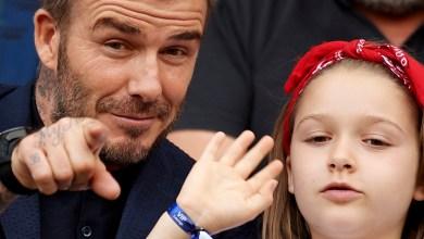Photo of David Beckham celebra el cumpleaños de su pequeña hija con un dulce video
